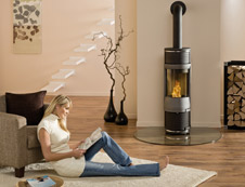 kaminofen als heizunterst tzung nutzen. Black Bedroom Furniture Sets. Home Design Ideas