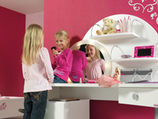 Kinderzimmer von und mit barbie - Barbie kinderzimmer ...