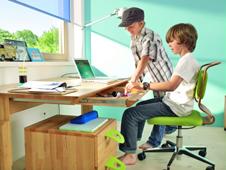 Kinder und jugendgerechter drehstuhl - Drehstuhl kinderzimmer ...