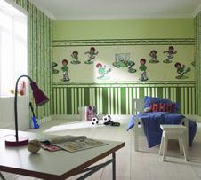 Tapeten im Kinderzimmer