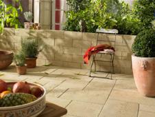 breadstone travertin walling von kann edler betonstein. Black Bedroom Furniture Sets. Home Design Ideas