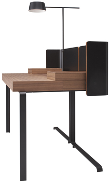 sekret r und beistelltisch f r mehr multifunktionalit t im b ro. Black Bedroom Furniture Sets. Home Design Ideas