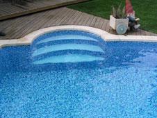Armstrong dlw mosaik optik f r klassisches pooldesign - Schwimmbad mosaik ...