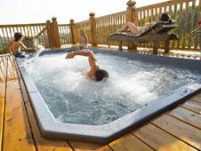 Gegenstromanlage im Swimmingpool von Vitality Deutschland