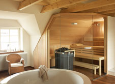 Wellness Bad - Planungstipps Für Die Eigene Sauna Im Bad Bad Sauna Planen Beachten