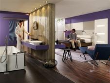 Schlafzimmer und Bad in Einem