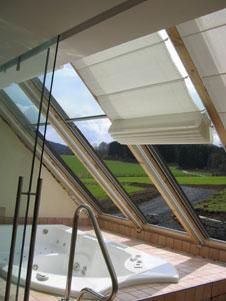 Dachausbau mit gleitfenstern for Badideen unterm dach