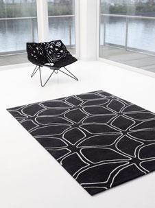 moderne teppichkunst. Black Bedroom Furniture Sets. Home Design Ideas