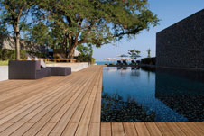 die qual der wahl beim terrassenholz, Moderne