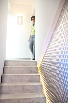 Treppen Gestalten treppenwände mit streckmetall gestalten