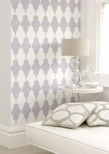 lila zimmerw nde. Black Bedroom Furniture Sets. Home Design Ideas