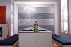 wandgestaltung mit trendvlies. Black Bedroom Furniture Sets. Home Design Ideas