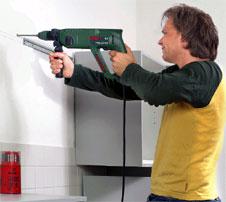 Schlagbohrmaschine Und Bohrhammer